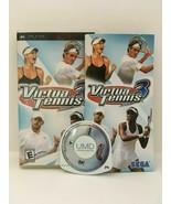 Virtual Tennis 3 (Sony PSP, 2007) CIB, USA SELLER - $4.77