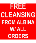 ONE MORE DAY! SPECIAL ALBINA CLEANSING ALL NEG ... - $0.00