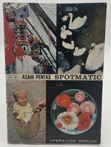 Asahi Pentax Spotmatic Operating Manual Owners Users Guide Book Vintage ... - $9.45