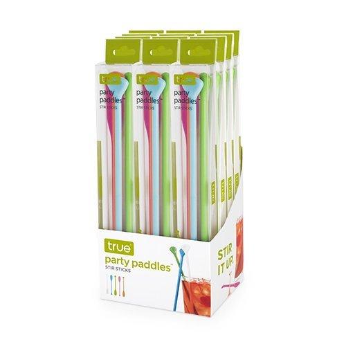 Cocktail Stir Sticks, Plastic Reusable Decorative Beverage Coffee Stirring Stick