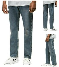 Levi Men 502 Size W32 x L30 Regular Taper Fit Warp Stretch Jean RRP $59.50 - $24.99