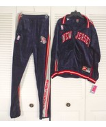 Mens NBA  NJ Nets Sweat Jacket and Pants # 24  Nike   Size Medium - $189.45