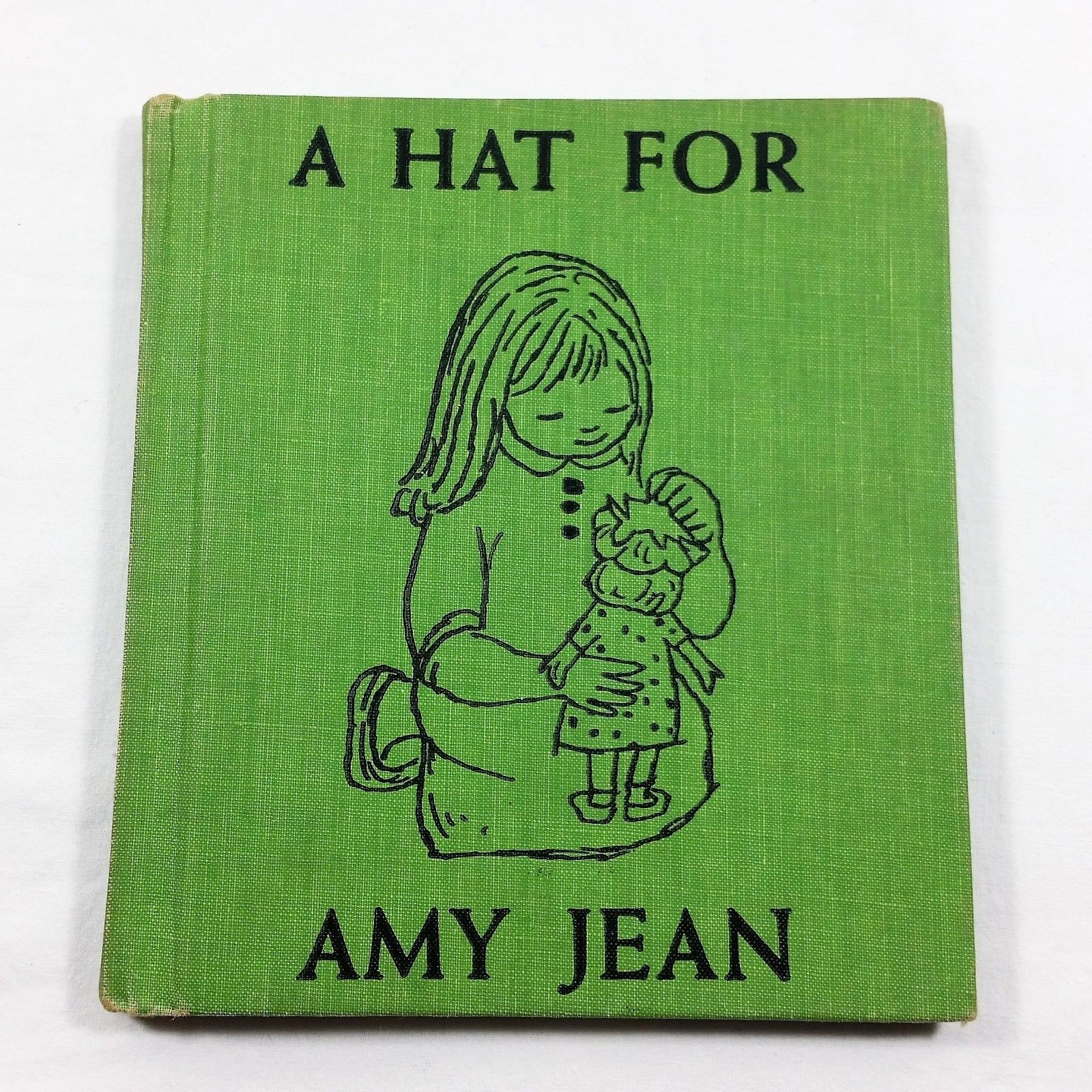 A Hat for Amy Jean by Marcy Chalmers 1956 Childrens Vintage Book Hardcover