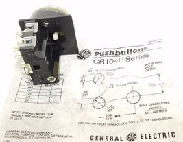 NEW GENERAL ELECTRIC CR104P SERIES PUSHBUTTON image 4