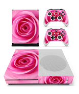 Nice Rose Pattern xbox one S console and 2 controllers - $15.00