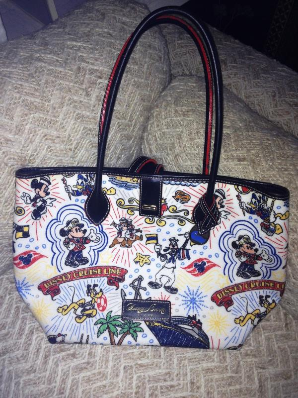 Primary image for Disney Dooney & Bourke - Disney Cruise Line (DCL) Medium Tote - EUC Retired HTF