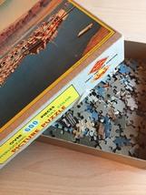 "Vintage 50s Warren Diamond Lock Picture Puzzle- #600 ""Lake Mead Marina""  image 8"