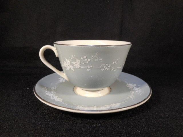 Vintage Royal Doulton English Bone China Reflection Cup and Saucer