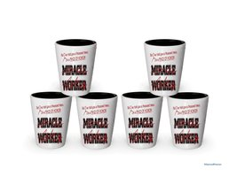 I'm Maid of Honor shot glass- Not a Miracle Worker -Maid of Hono Gifts (6) - $29.35