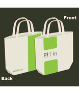 Wii Fit Plus Brand New Large Canvas Tote Bag * Club Nintendo - $7.88