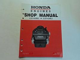 2000 Honda Motoren GXV610K1 GXV620K1 Shop Manuell Locker Blatt Werk OEM ... - $23.75