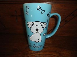 La Senza Lingerie Shop Official Dog Porcelain Cup Mug 6 inch New - $85.82