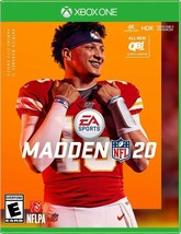 Xbox One MADDEN 20 NFL Fooftball Video Game Brand New Rated E EA Sports ... - $49.99