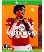 Xbox One MADDEN 20 NFL Fooftball Video Game Brand New Rated E EA Sports ... - $44.99