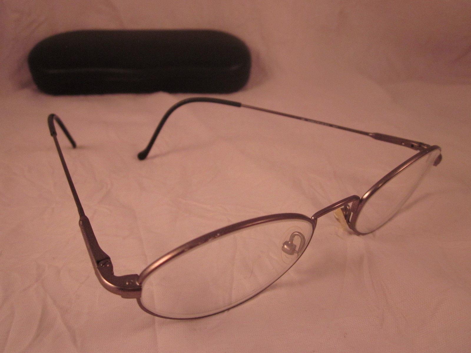 21c42b5941 SAFILO ELASTA Rx TEAM 3919 Eyeglasses Gray Black Oval Metal Full Rim Frames  -  16.68