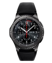Samsung Gear S3 Frontier Smartwatch SM-R760 Bluetooth Ver. [Dark Gray] Displayed image 2