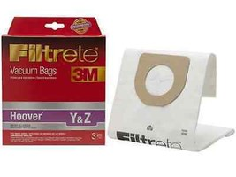 Hoover Y Cleaner Bags Micro Allergen Vac by 3M 64702A-6 [54 Allergen Bags] - $65.55