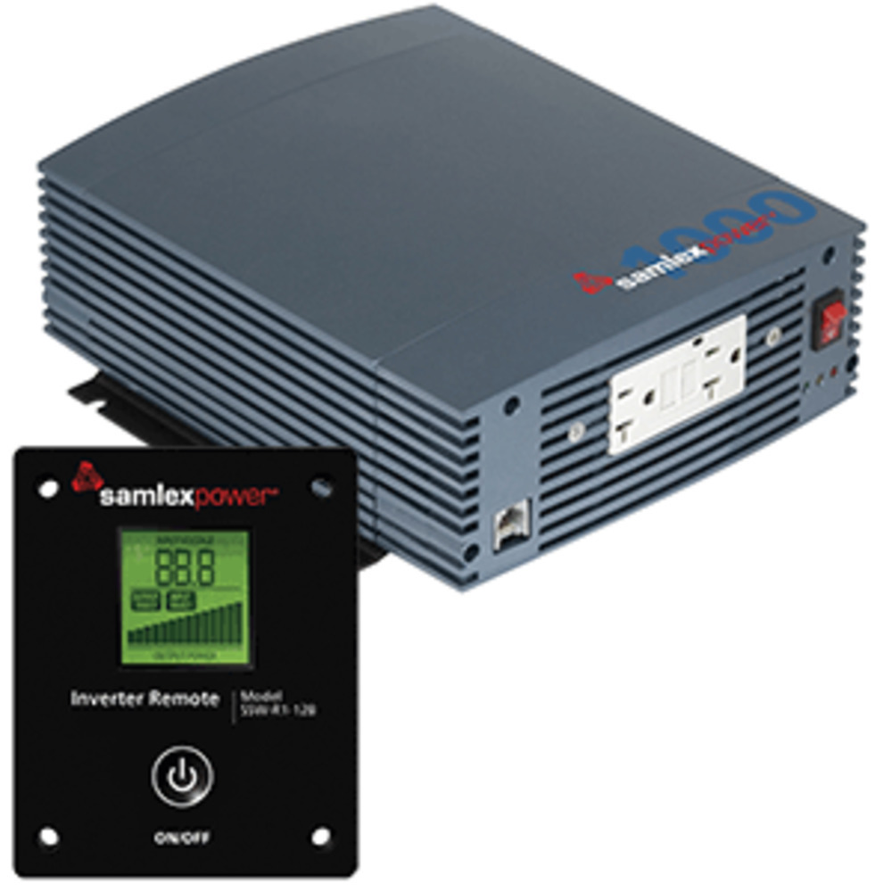 Primary image for Samlex 1000W Pure Sine Wave Inverter - 12V w/LCD Display Remote Control