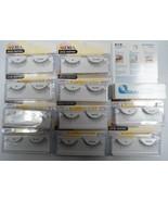 (10 Pairs) Andrea Strip Lashes Fashion Eye Lash Style 62 Black + Free Glue - $28.99