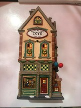 Dept 56 Christmas in the City Nicholas & Co. Toys Lighted Christmas Decoration - $54.45