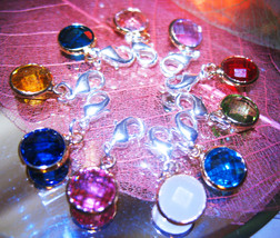 Haunted BEAD CHARMS CHOOSE YOUR MAGICK 925 GEMSTONE WITCH Cassia4  - $23.00