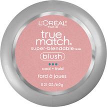 L'Oreal Paris True Match Super-Blendable Blush, Soft Powder Texture, Tender Rose - $23.91