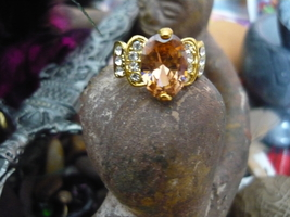 Haunted Gold Dragon Very Protective And Great Wish Grantor Ring 11 - $150.00