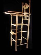 """Spooky Antique Doll 28"""" High Chair - Haunted furniture - Victorian cherub - $245.00"""