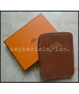 AUTH BNIB Hermes GM ZIP Pocket Diary Agenda or ... - $2,100.00