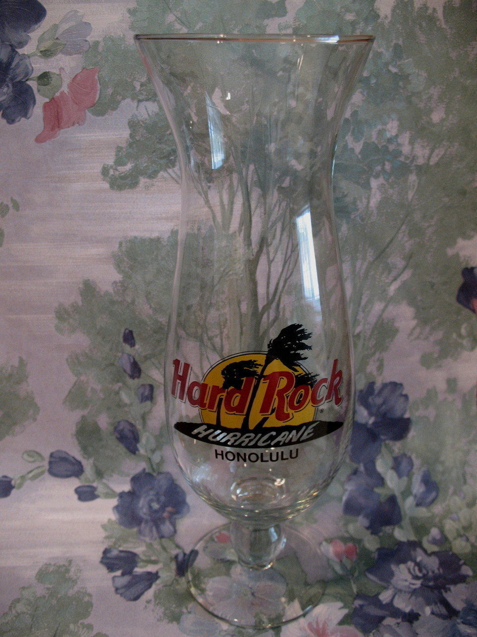 Primary image for Hard Rock Cafe HONOLULU Souvenir Hurricane Glass