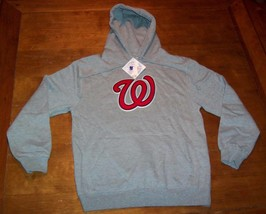 WASHINGTON NATIONALS MLB BASEBALL HOODIE SWEATSHIRT SMALL NEW w/ TAG - $49.50