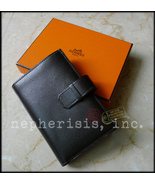 AUTH BNIB $2500 Hermes TOP 24 WALLET PURSE Buff... - $1,250.00