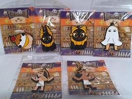 Konatsu Egyptian Exhibition - Complete Set of Rubber Keychains image 3