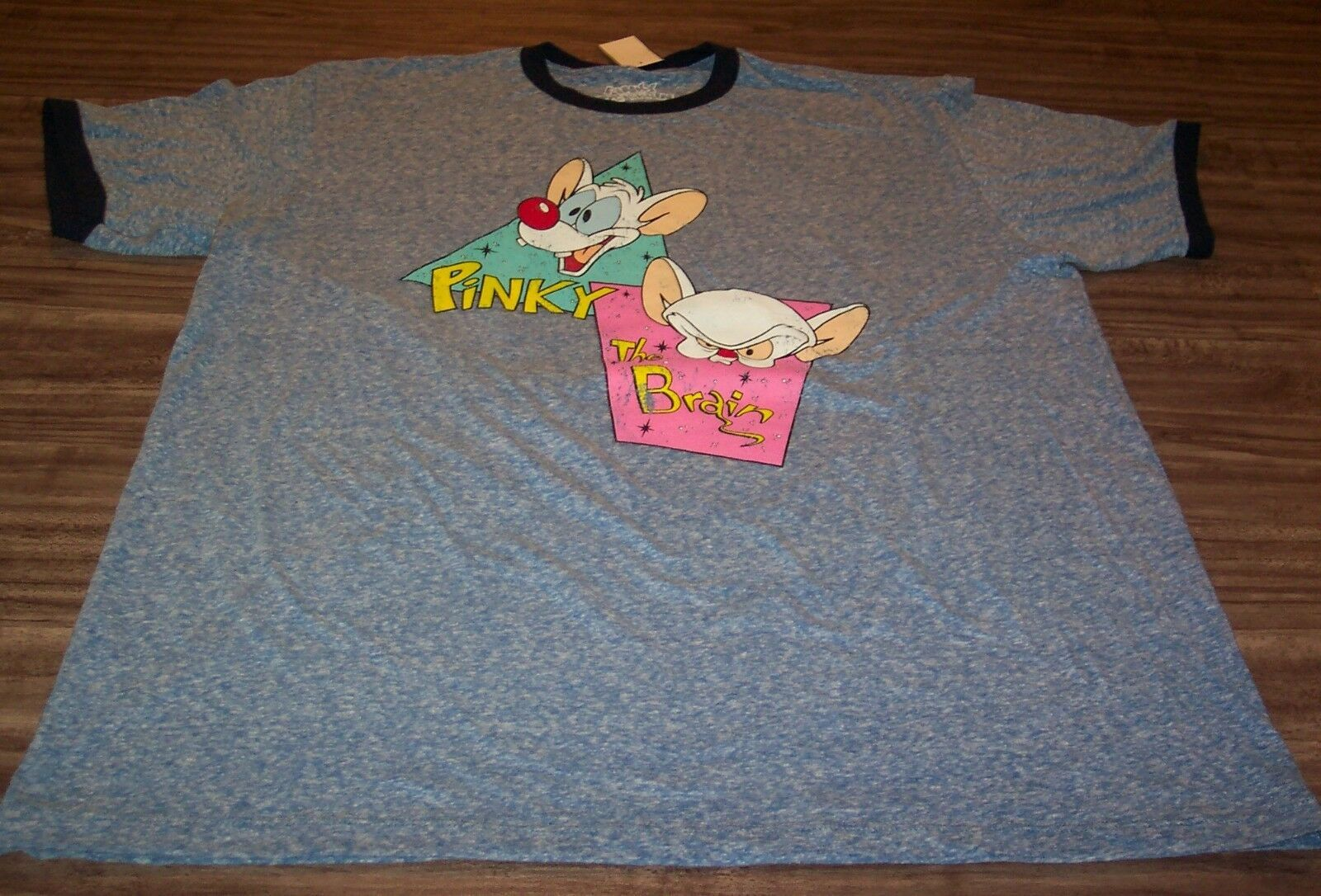 VINTAGE STYLE WB PINKY AND THE BRAIN T-Shirt 2XL XXL NEW w/ TAG