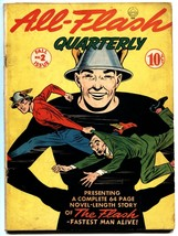 ALL-FLASH #2-GREAT COVER-1941-RADRE GOLDEN AGE DC-FLASH VG - $1,105.80