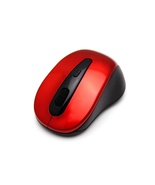 Red Cordless USB Receiver Wireless 2.4G Optical Mouse Vista+USB 2.0 Rece... - $8.50
