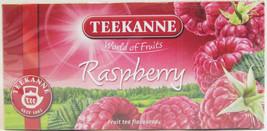 Teekanne RASPBERRY Tea - 20 tea bags- Made in Germany - $4.80