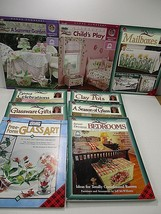 Plaid One Stroke  Free Form Painting Books Lot of 9 W/ Worksheets Donna ... - $29.69