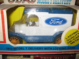 Ertl 1913 Model T Bank-FORD Motor CO -FREE SHIPPNG - $20.00