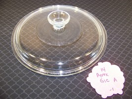 Pyrex Clear G1C A Round Lid W/ Ribs Corning Ware - $13.49