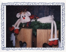 """1991 Sew Special Christmas Soft Toy Draft Dodger 36"""" Hang Around Rudy Kit - $13.99"""