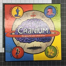 CRANIUM Board Game the game for your whole brain Family Kids Original 1998 - $9.95