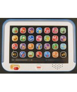 Fisher-Price Smart Stages Laugh & Learn Tablet Blue CHC67 - $11.28