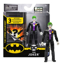 "The Caped Crusader The Joker Black Tuxedo Suit 4"" Figure + 3 Mystery Acc... - $15.88"