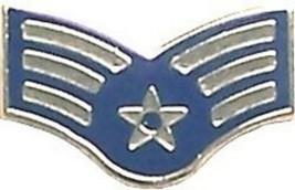 Air Force Usaf E-4 Senior Airman Star Rank Lapel Pin - $18.04
