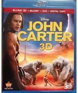 Disney John Carter (Blu-ray 3D/Blu-ray/DVD) (2012) - $29.95