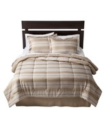 Room Essentials Tan Stripe Twin/Single Size Com... - $57.00