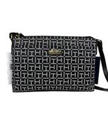 Tommy Hilfiger Julia Logo Jacquard Small Crossbody Bag W/ Pouch, Black/W... - $23.40