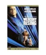 Mercury Rising (DVD, 1999, Collector's Edition) Bruce Willis, Alec Baldwin - $3.99