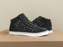 UGG TAYLAH CRYSTALS ASPHALT BLACK ANKLE SNEAKER SHOES US 7 / EU 38 / UK ... - $99.10